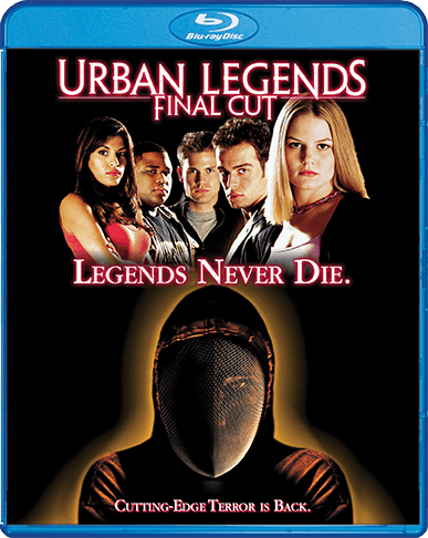 Shout! Factory Urban Legends: Final Cut Blu-ray Cover