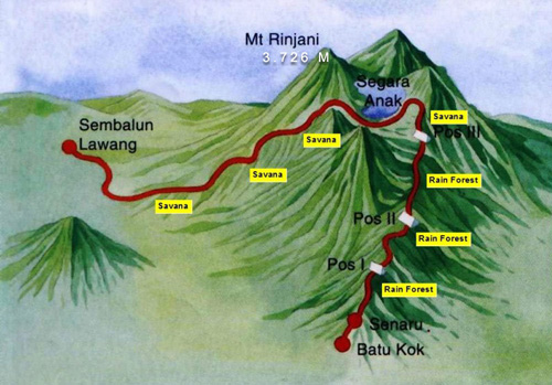 Popular Hiking Trails In Southeast Asia