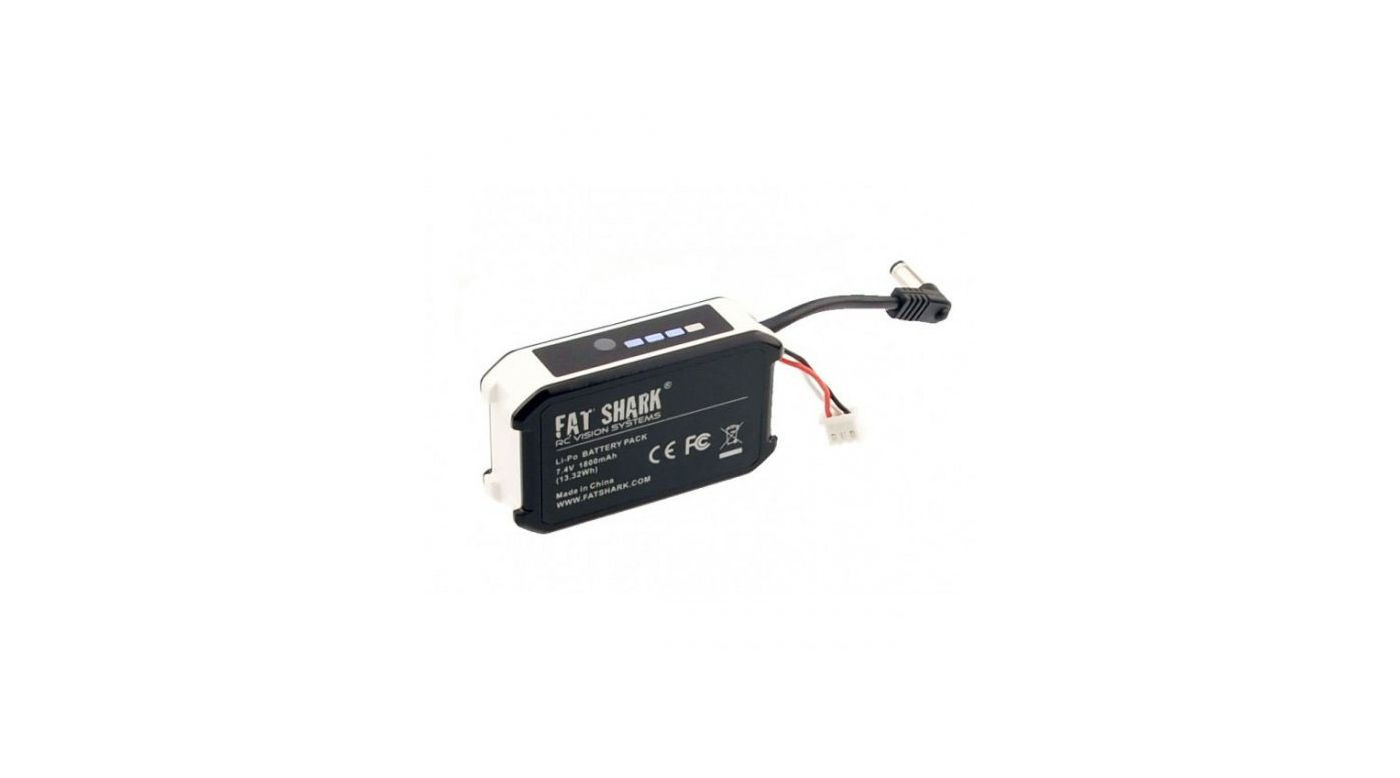 Fsv Fat Shark 7 4v Mah Lipo Battery Pack With Led Indicator Remote Controlled Hobby