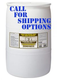 D2 Biological Solution 55 Gallon Drum - Call for Shipping Options