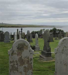 Picture of graveyard