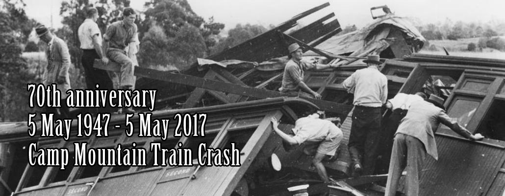 Camp Mountain Train Crash