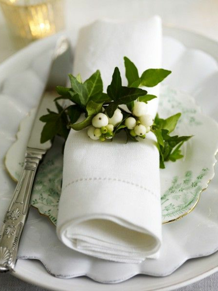 40 DIY Christmas Napkin Rings And Holder Ideas Youll Love  Gravetics