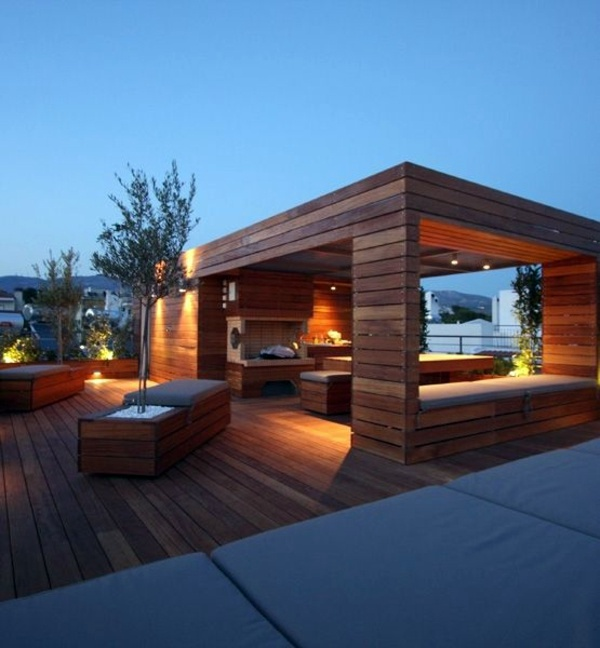 50 Beautiful Home Rooftop Terrace Design Ideas Gravetics