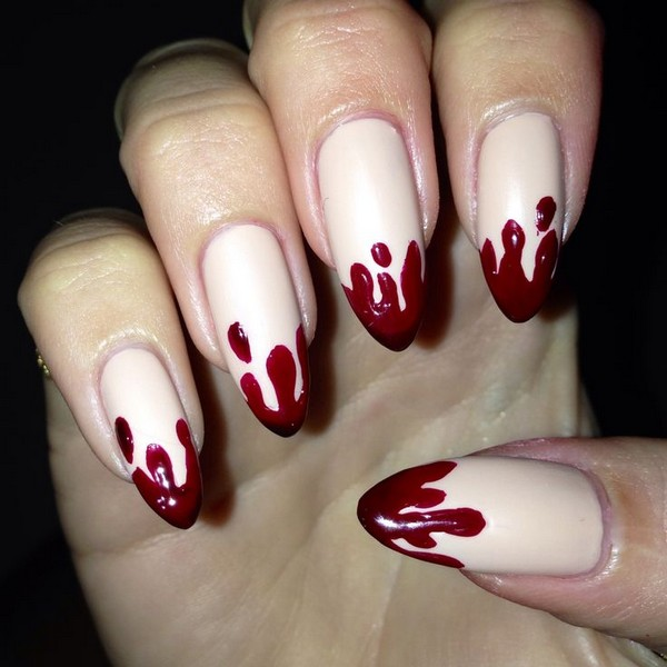 35 Stunning Pointy Nail Designs That You Want To Try  Gravetics