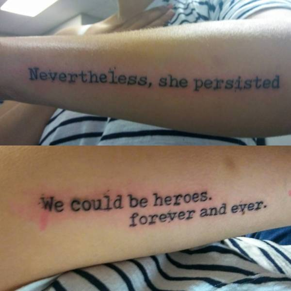 20 Inspirational Quote Tattoos For Girls Ideas And Designs