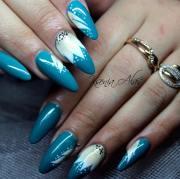 lovely spring nail design