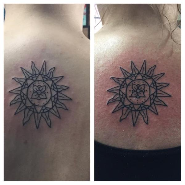 Exclusively Unique Sun Tattoo Ideas Explore - Gravetics