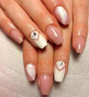 sober and smart work nail art