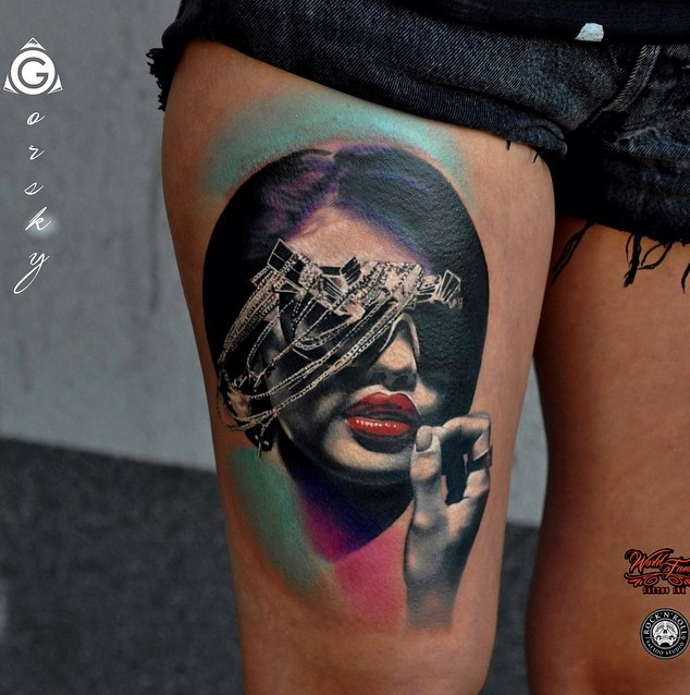 45 Mesmerizing Surreal Tattoos That Are Wonderful Gravetics