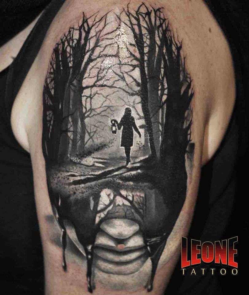 45 Mesmerizing Surreal Tattoos That Are Wonderful To