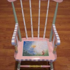 Rocking Chairs For Sale Vintage Wicker 40 Vibrant Diy Painted Chair Design Ideas
