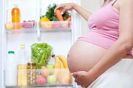 kost under graviditet