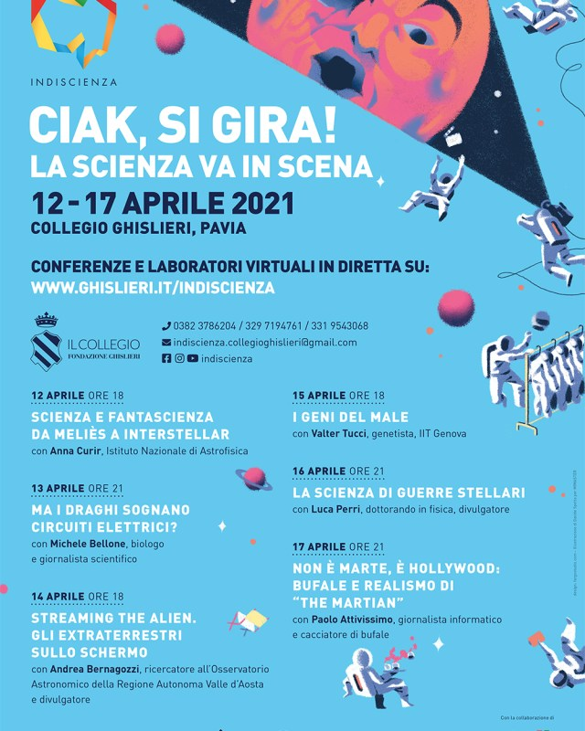 Ciak, il Web Science Festival va in scena a Pavia