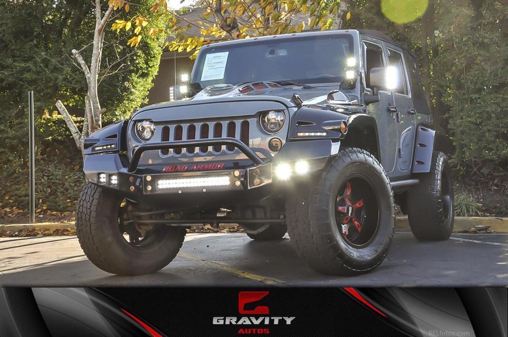 medium resolution of used 2014 jeep wrangler unlimited rubicon chamblee ga