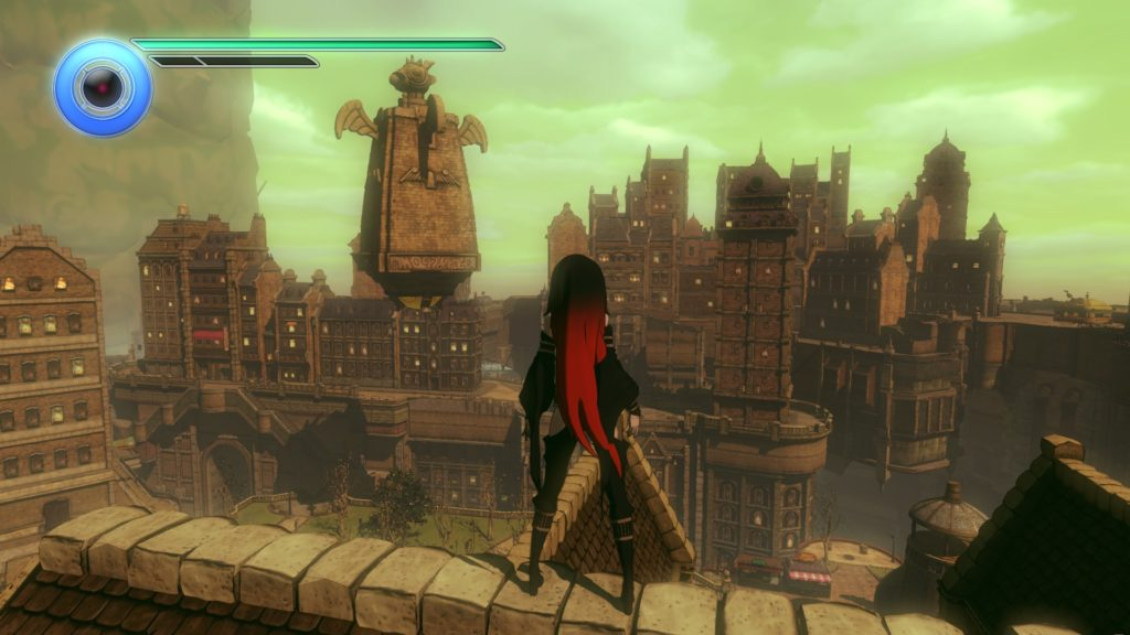 Gravity Rush 2 Raven DLC - Vendecentre and the Ark