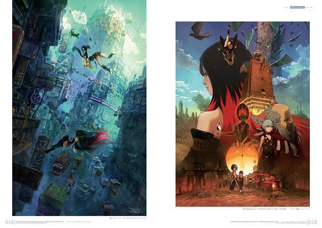 Gravity Daze Series Official Art Book Douya Rejavi Saaeju Japan with Tracking
