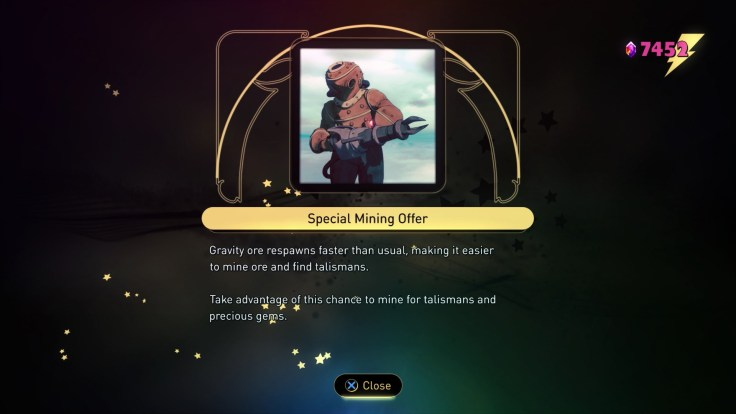 Gravity Rush 2 - 1.10 Update - Special Mining Offer