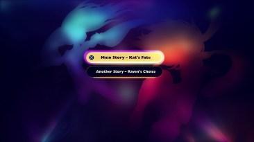 Gravity Rush 2 - Another Story - Opening Menu