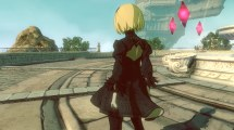 Kat in Gravity Rush 2, wearing her 2B costume