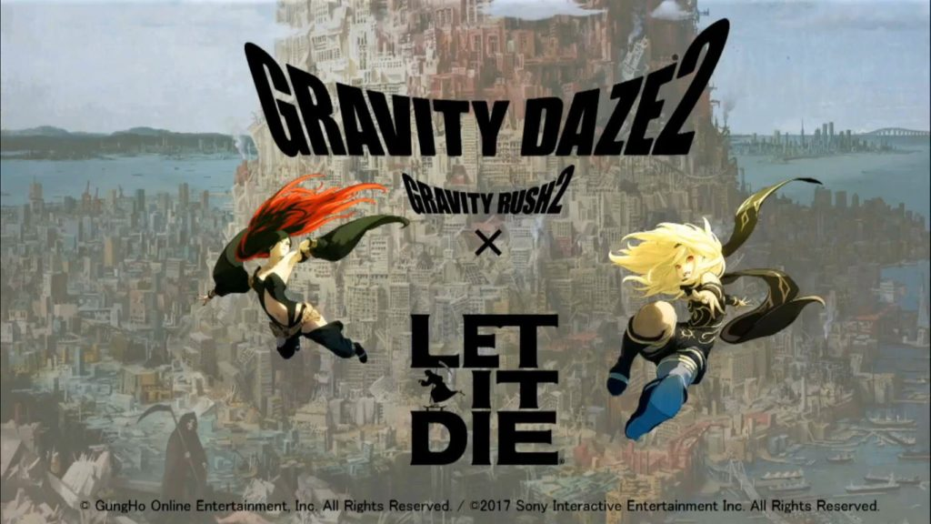 Gravity Daze 2 X Let It Die