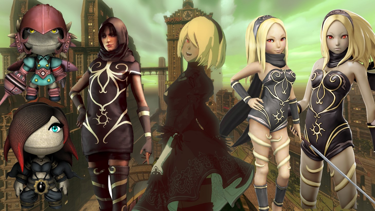 An Overview of Gravity Rush's Crossovers With Other Game Franchises