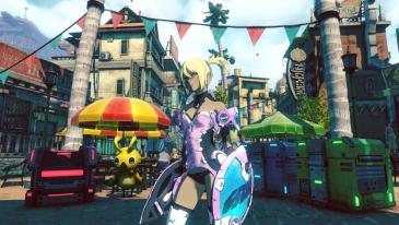 The Crazy Kitten costume for Kat in Gravity Rush 2.