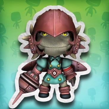 Yunica costume for LittleBigPlanet