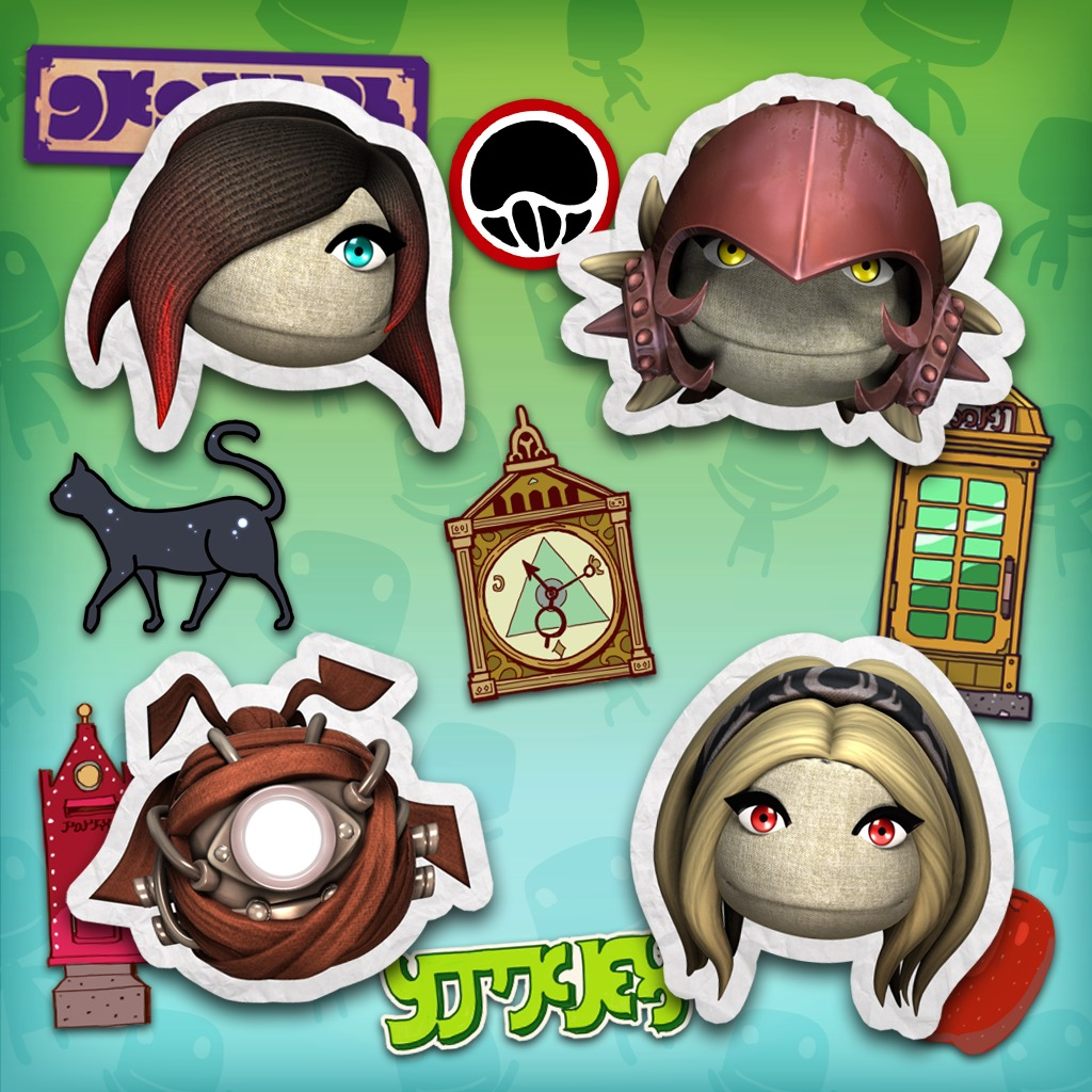 Gravity Rush DLC pack for LittleBigPlanet