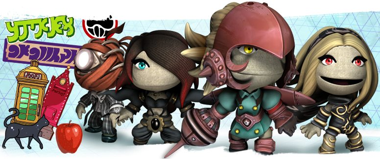 Alias, Raven, Yunica and Kat in LittleBigPlanet