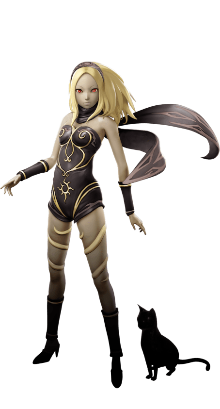 Kat CG model for PlayStation All-Stars Battle Royale