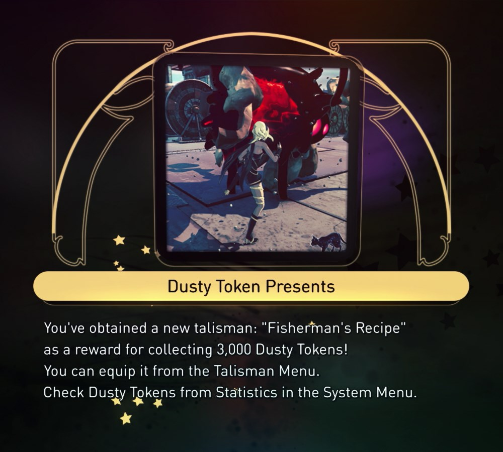 Fisherman's Recipe Talisman - 3000 Dusty Tokens