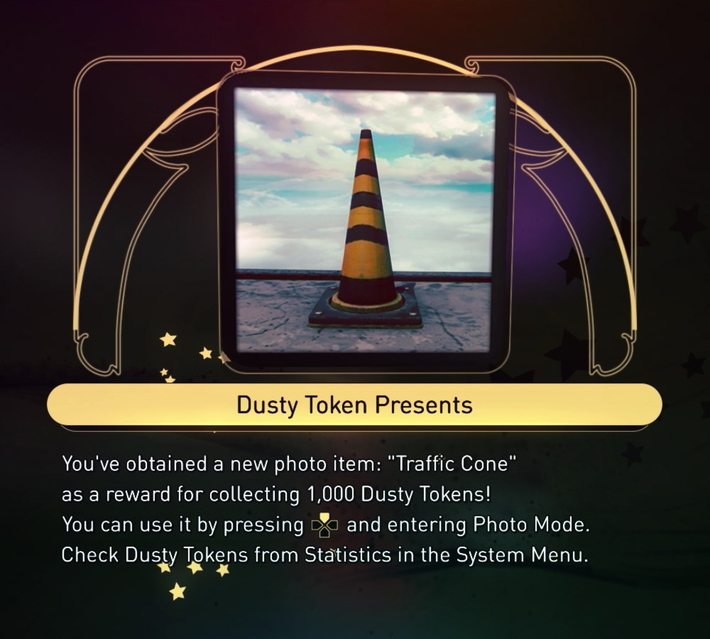 """ Traffic Cone"" photo item - 1000 Dusty Tokens"