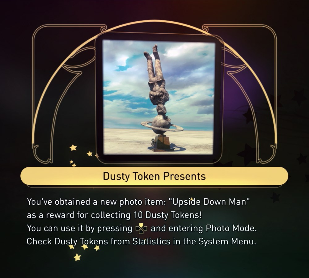 """Upside Down Man"" Photo Item - 10 Dusty Tokens"