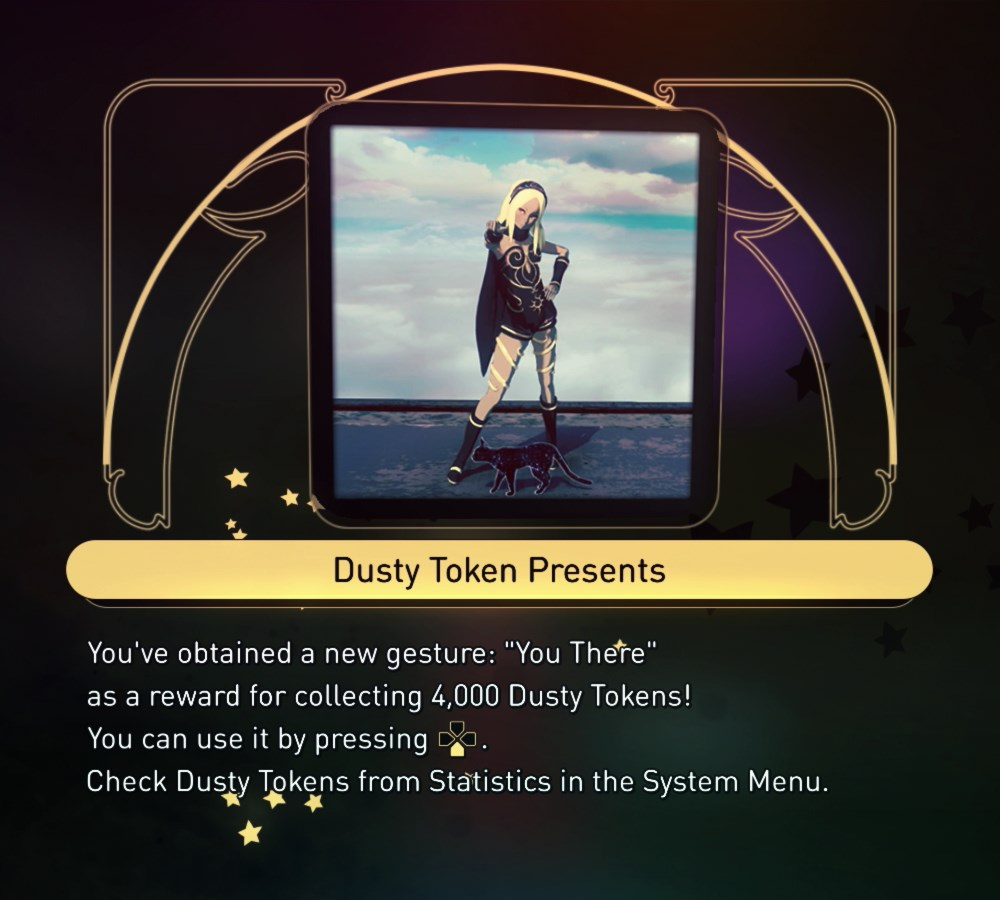 """You There"" Gesture - 4000 Dusty Tokens"