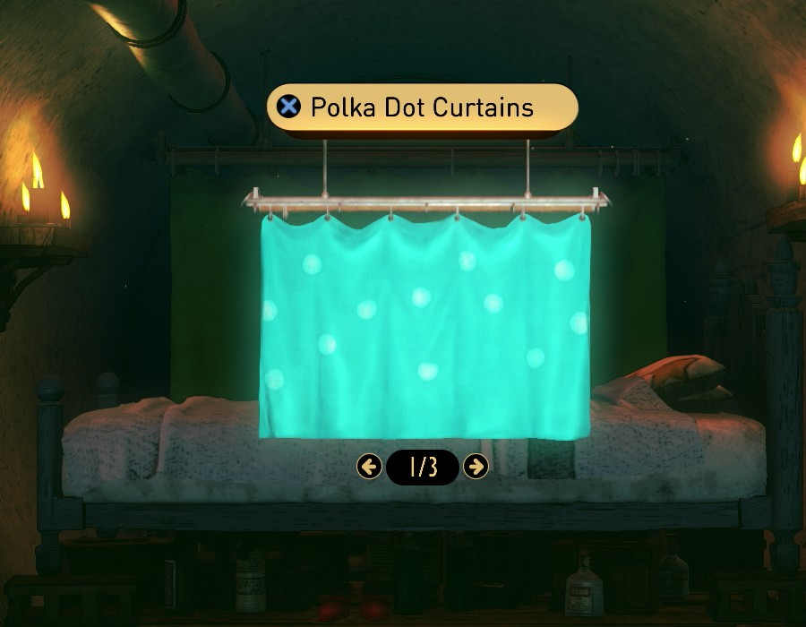 Polka Dot Curtains