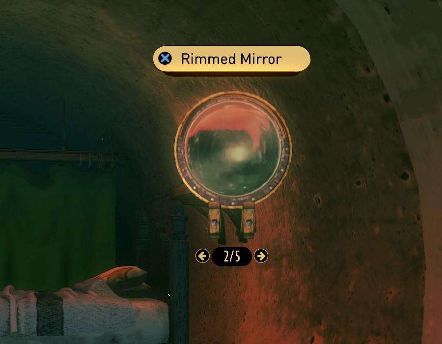 Rimmed Mirror