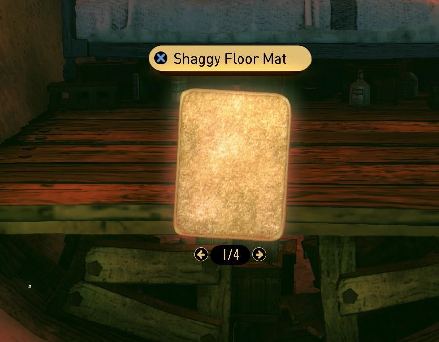 Shaggy Floor Mat