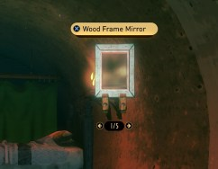 Wood Frame Mirror