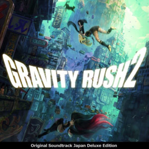 Gravity Rush 2 - Original Soundtrack Japan Deluxe Edition - Cover Art