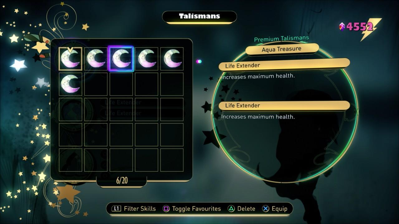 Aqua Treasure Talisman