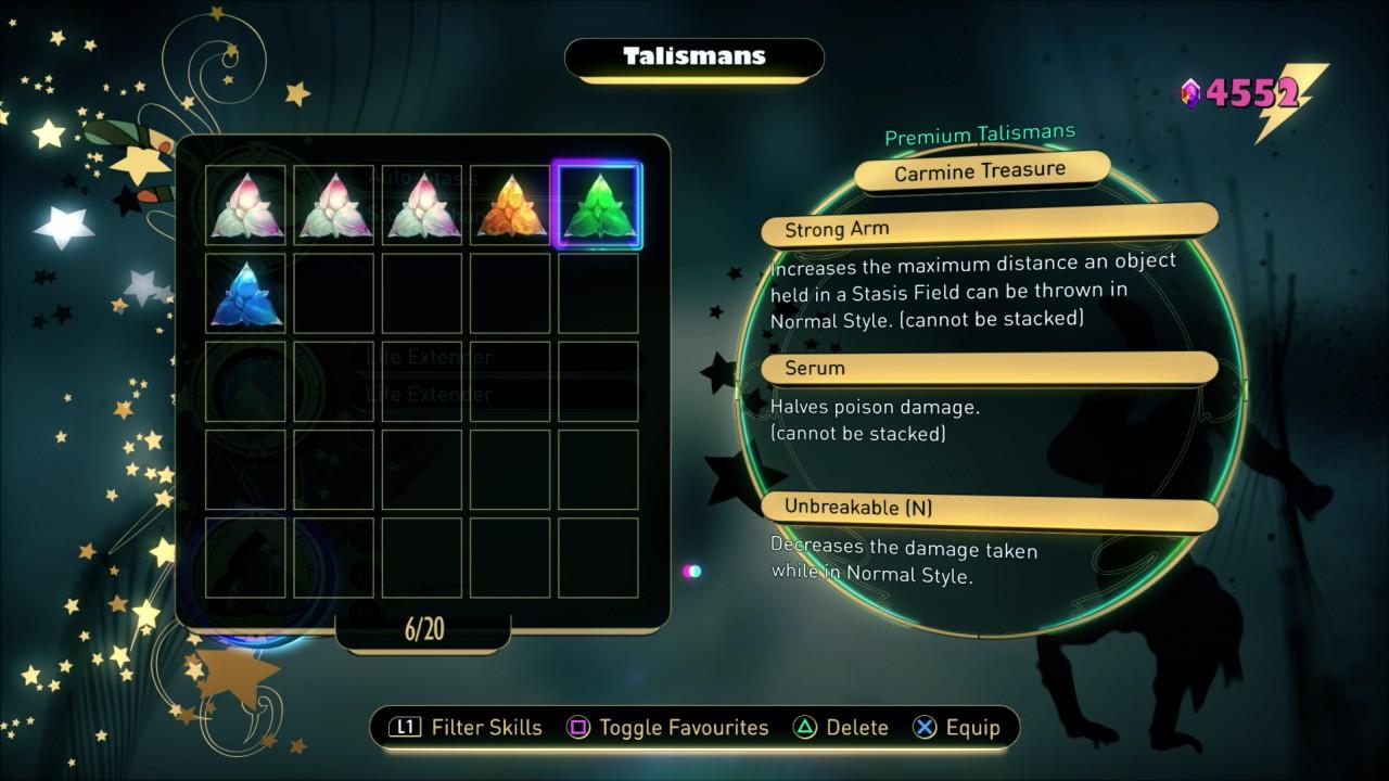 Carmine Treasure Talisman