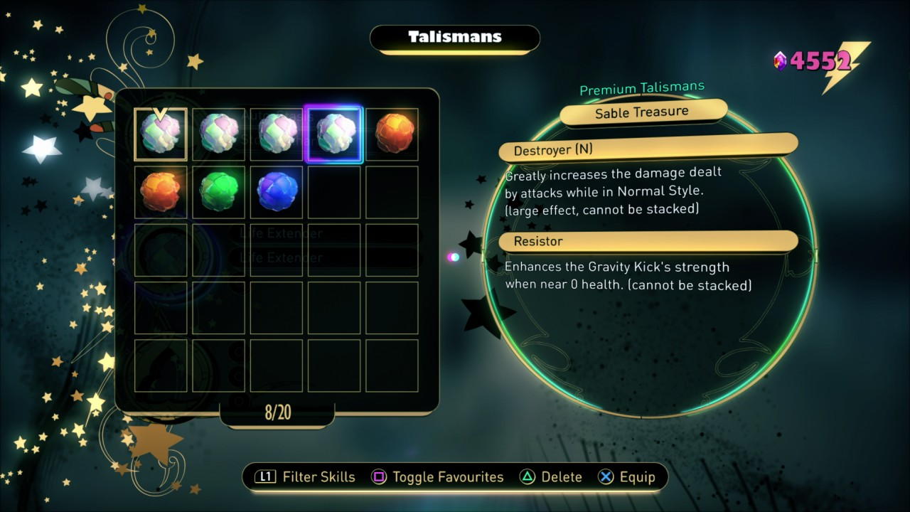 Sable Treasure Talisman