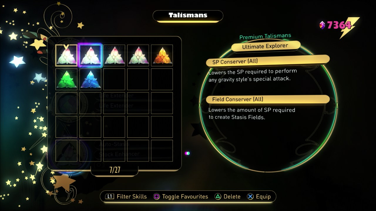 Ultimate Explorer Talisman