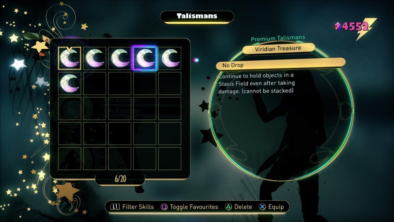 Viridian Treasure Talisman