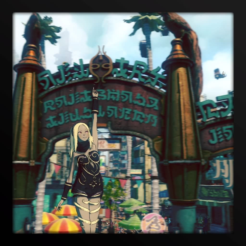 Gravity Rush 2 Photo 1st Anniversay - 2