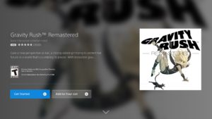 Gravity Rush - PS Now Download