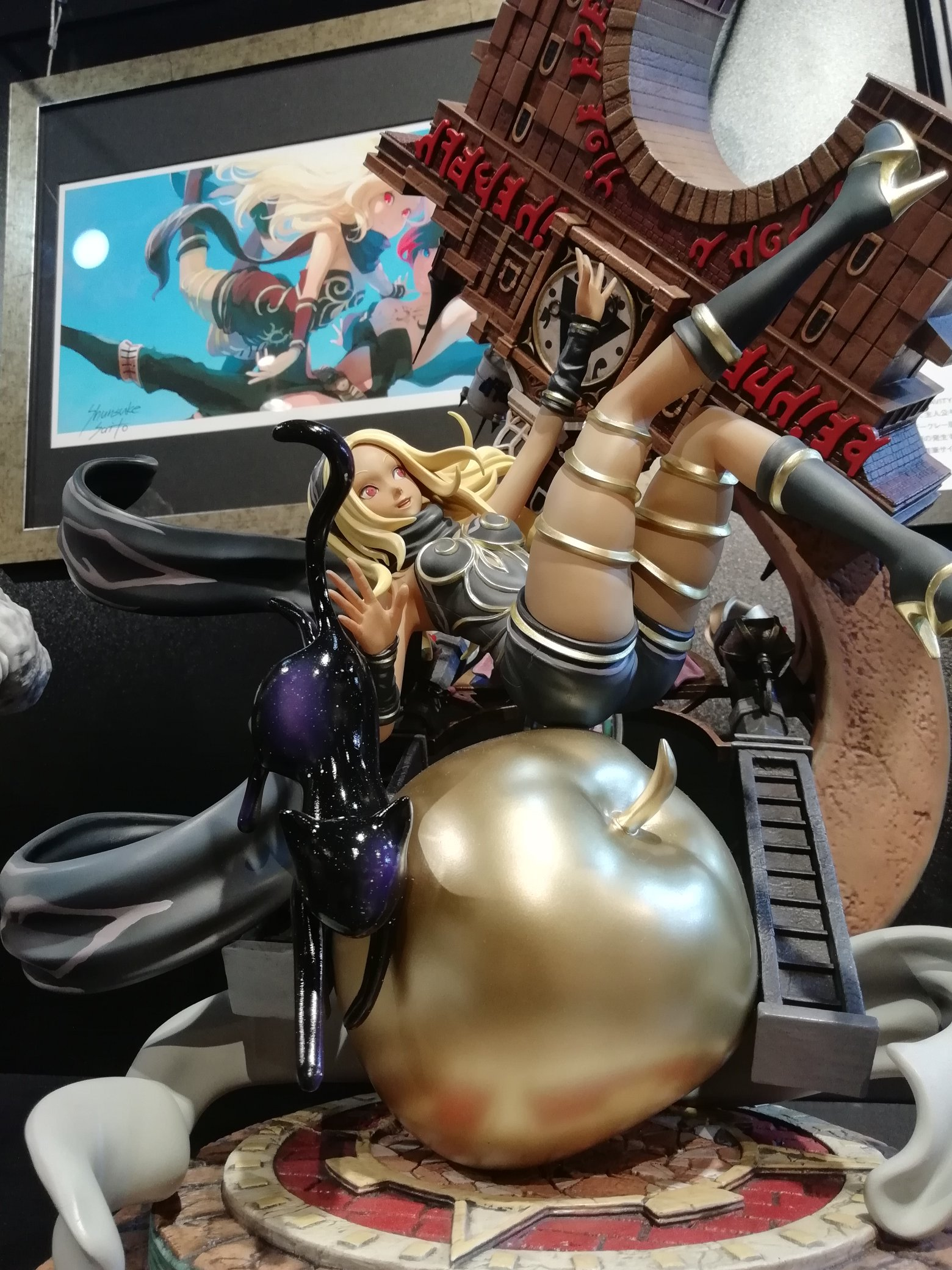 Prime 1 Studio's Kat Statue shown an their museum.