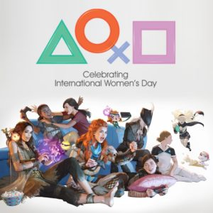 International Women's Day 2019 Dynamic Theme for PS4.
