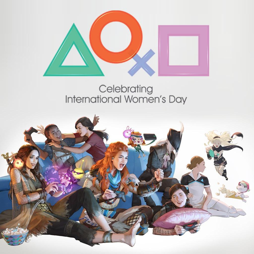 International Women's Day 2019 Dynamic Theme for PS4.
